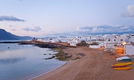 Isla la graciosa de las Islas Canarias