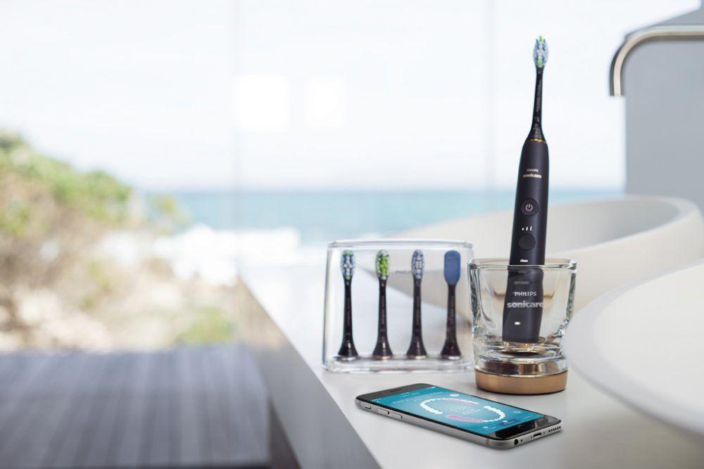 cepillo inteligente con aplicación móvil