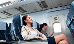 hacer que un vuelo largo sea más cómodo