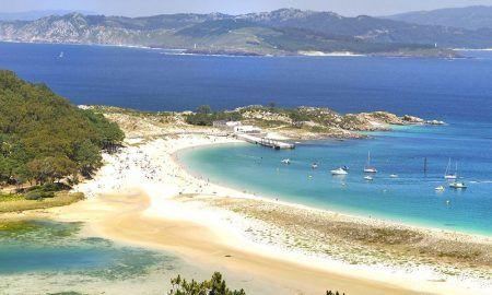 playa en islas cíes