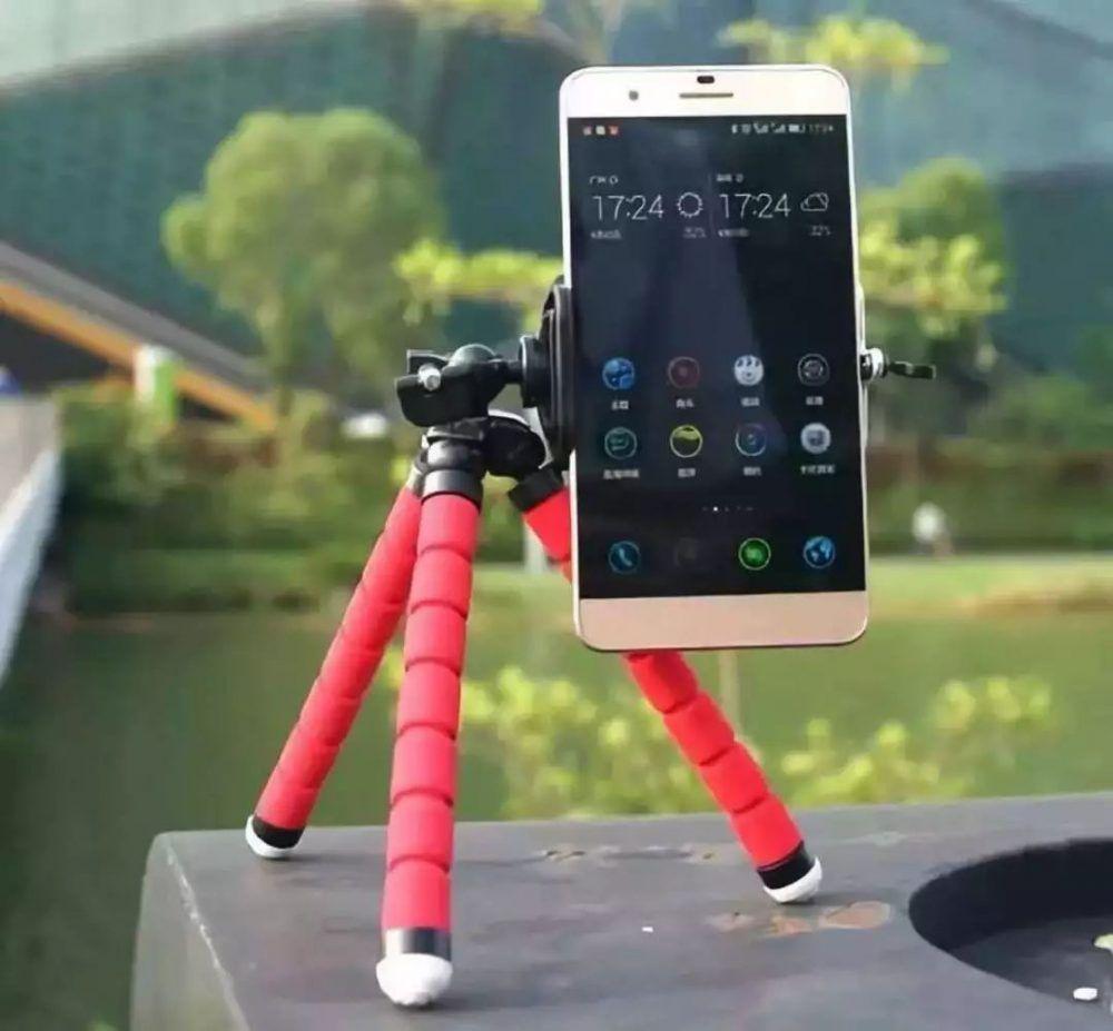 soporte de cámaras o móviles flexible para viajes