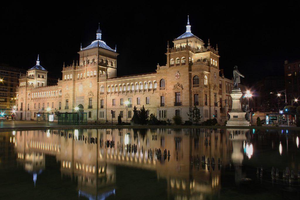 iluminación Caballería Valladolid