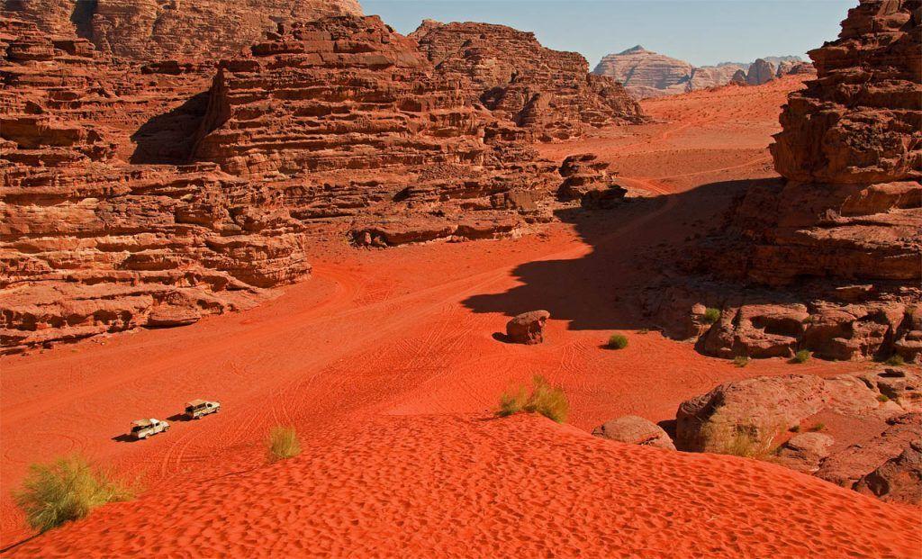 Desierto Wadi Rum
