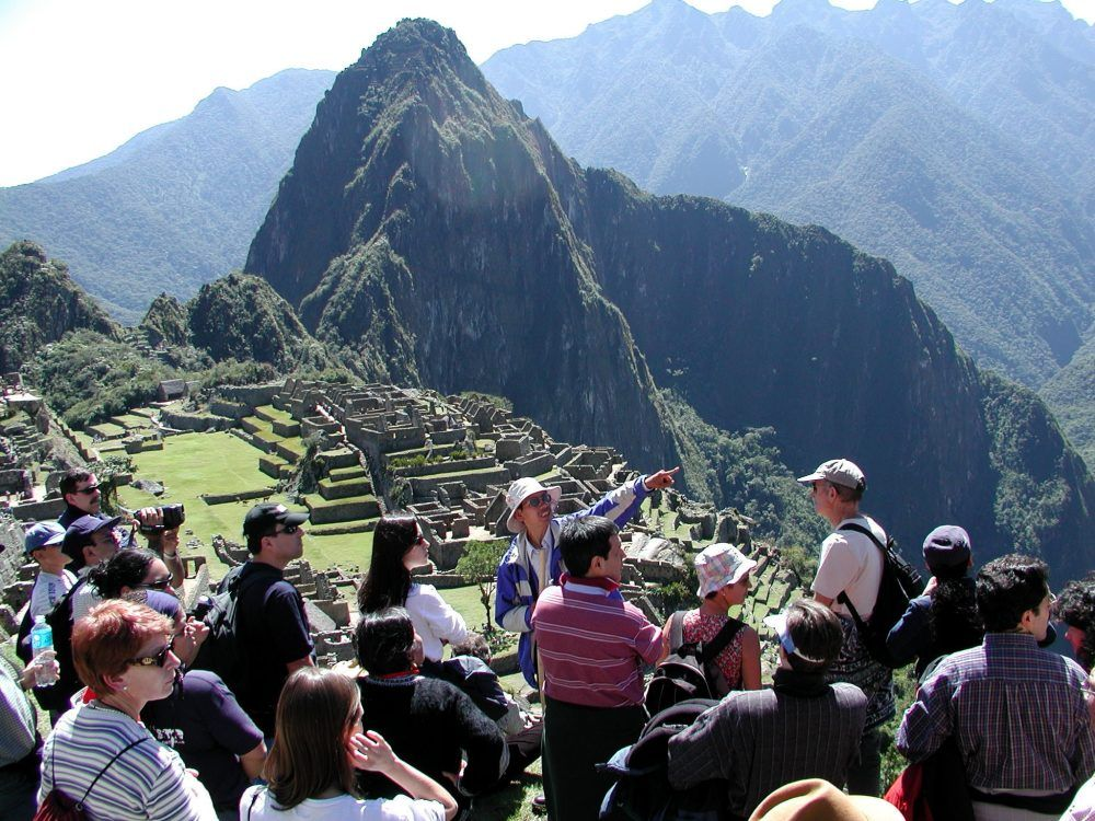 Guía turístico en Machu Pichu