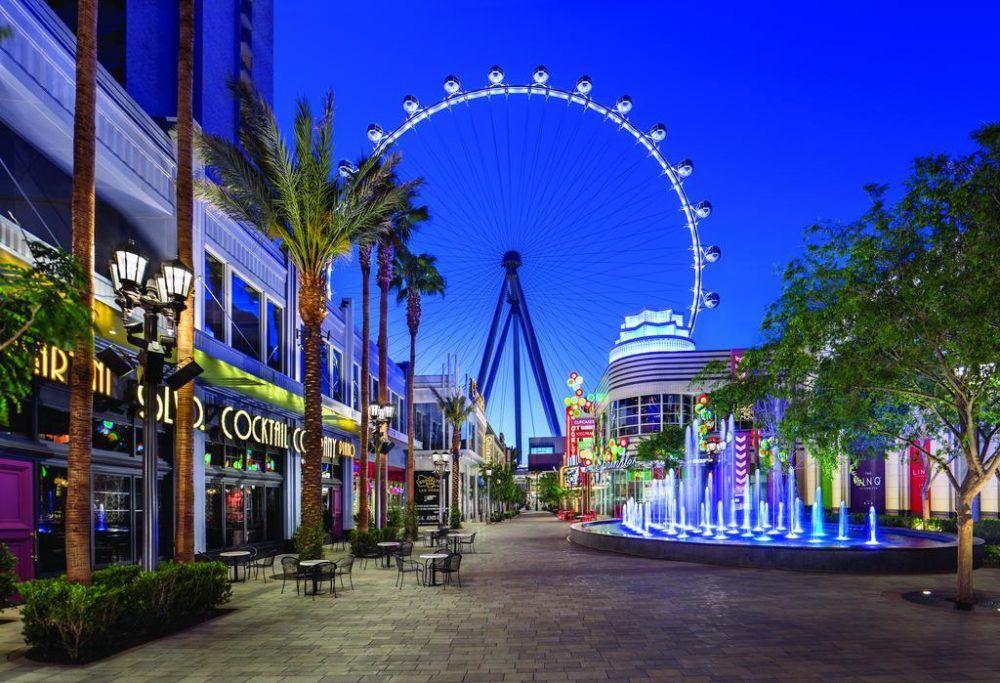 LINQ Noria Panorámica Las Vegas
