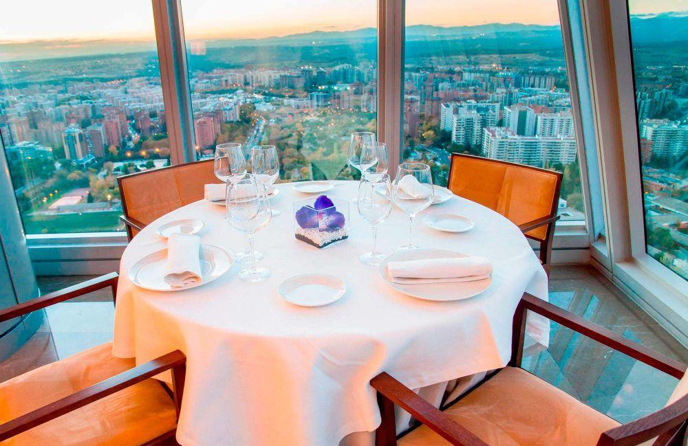 Cena romántica de San Valentín en Madrid