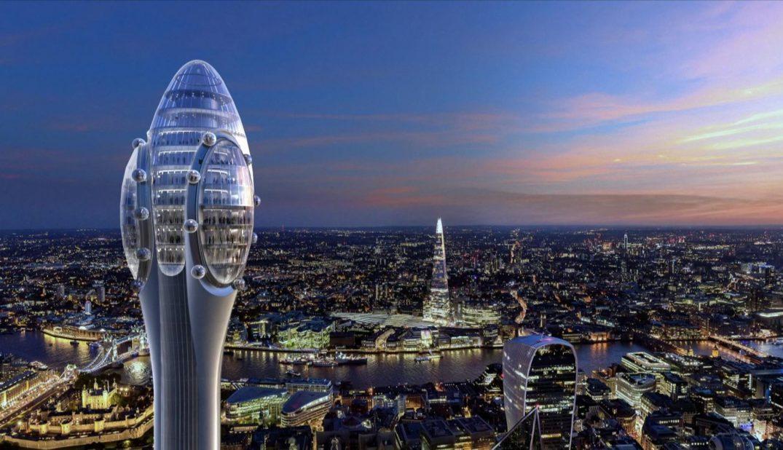 Rascacielos The Tulip en Londres