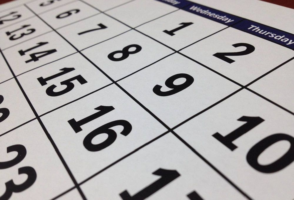 calendario laboral de 2019