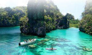 Palawan, una isla que parece un paraíso en Filipinas