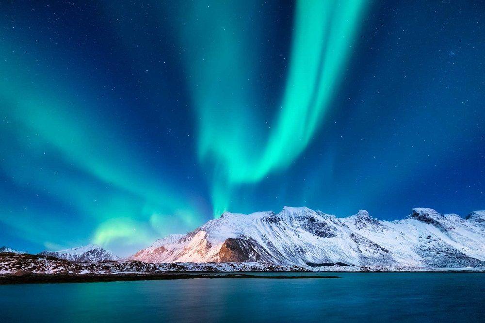 noruega, aurora boreal