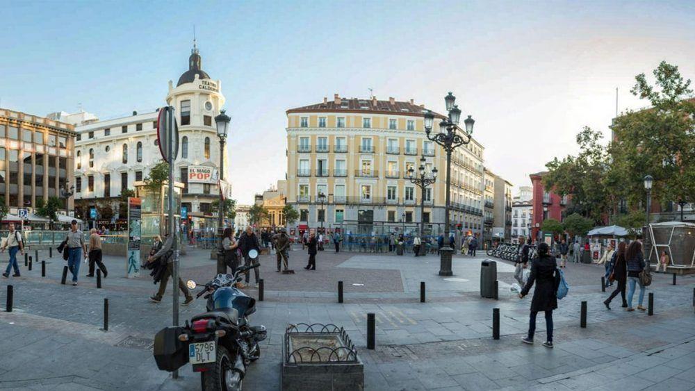 Plaza de Jacinto Benavente