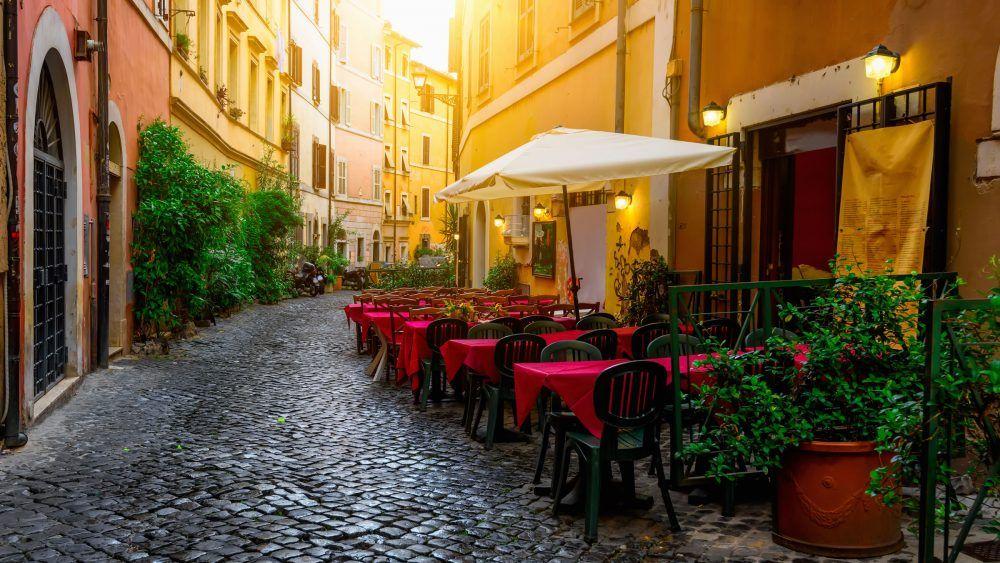barrio de trastevere en roma