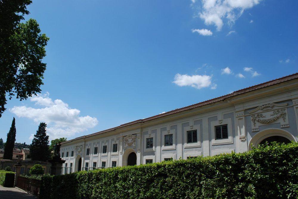 Jardines Boboli del Palazzo Pitti en Florencia