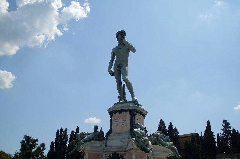 Plaza de Miguel Angel en Florencia