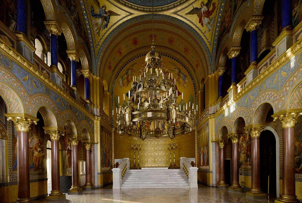 Neuschwanstein Sala del Trono