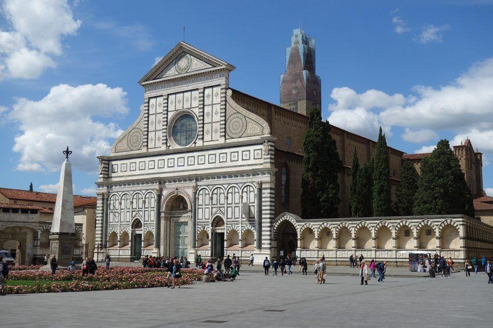 Iglesia y Plaza Santa María Novella, Florencia