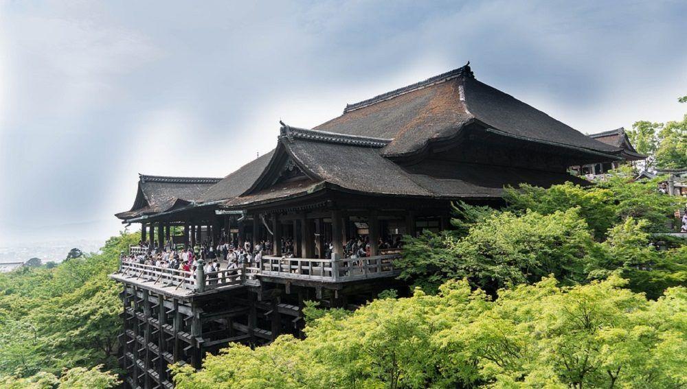 Terraza del templo Kiyomizudera
