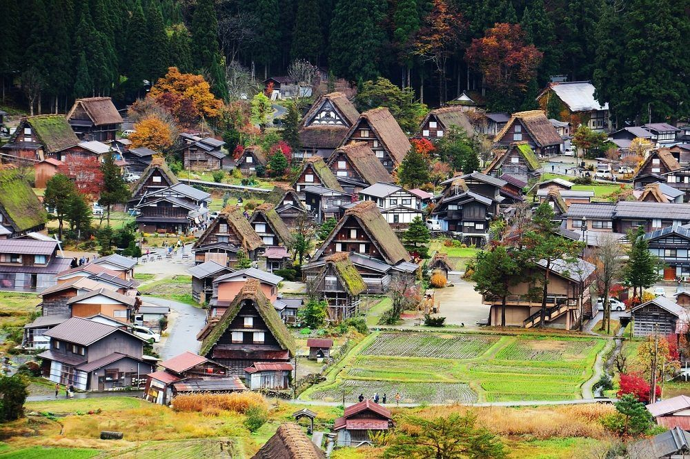 Aldea histórica de Shirakawago