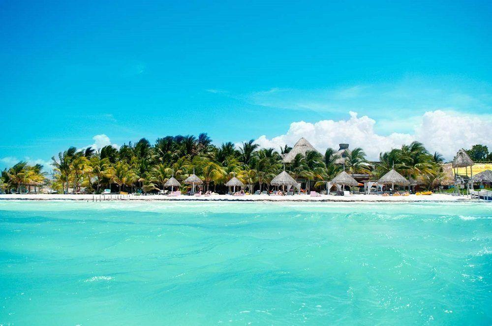 Isla Holbox en el Caribe