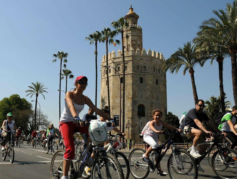 Sevilla en bicicleta