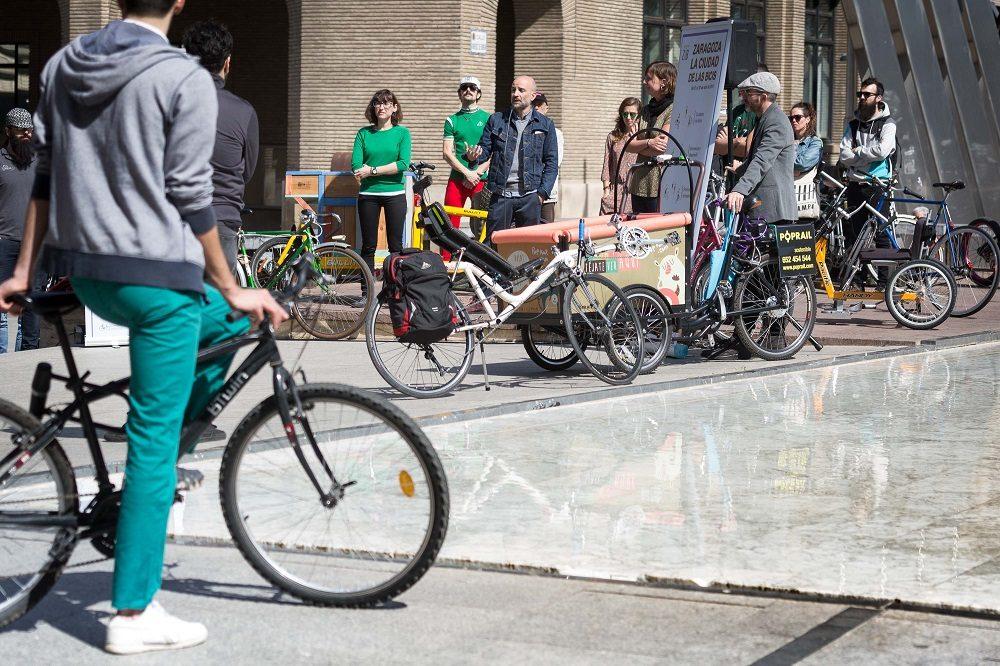 Zaragoza en bicicleta