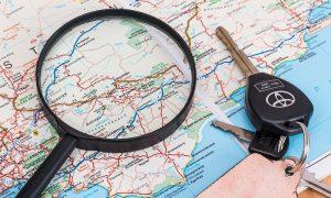 Alquilar un vehículo en tus viajes