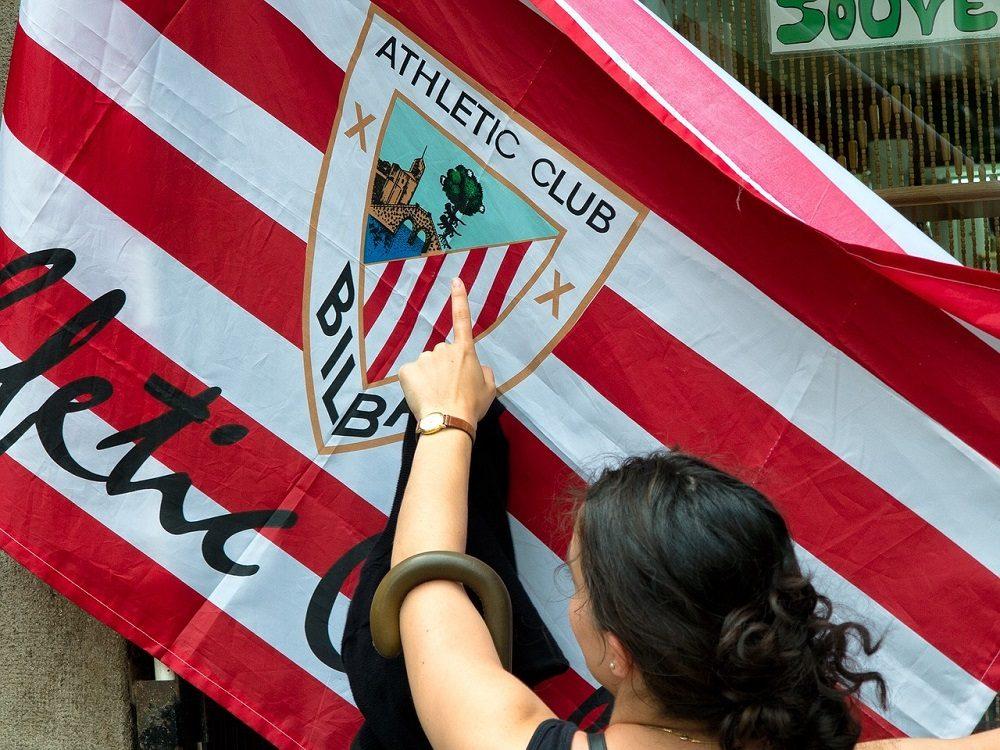 Bandera del Athletic de Bilbao