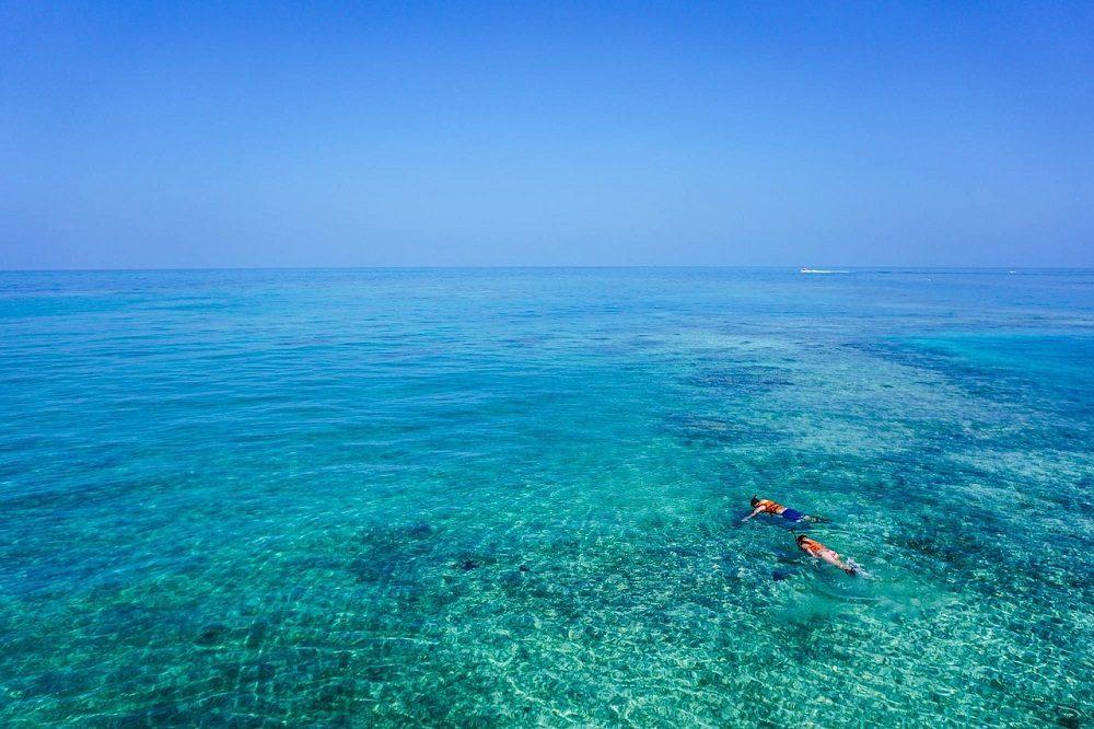 Hacer snorkel en España