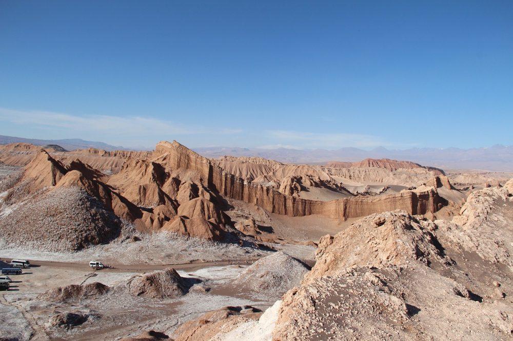 Valle de la Luna en el desierto de Atacama