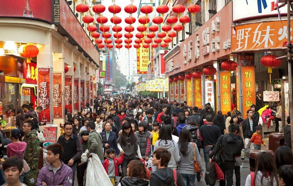 la población China se reducirá