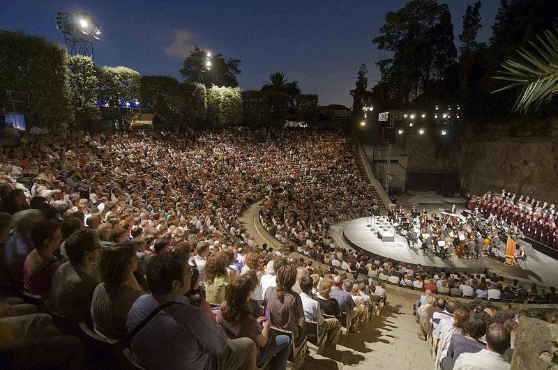 Teatro Grec de Barcelona