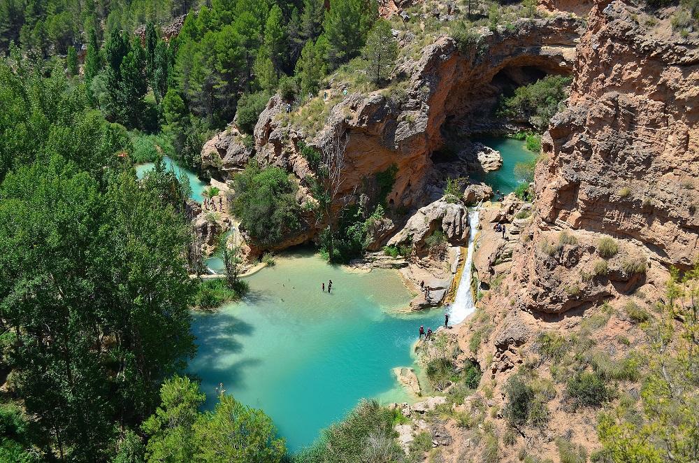 Las Chorreras del Cabriel, Cuenca