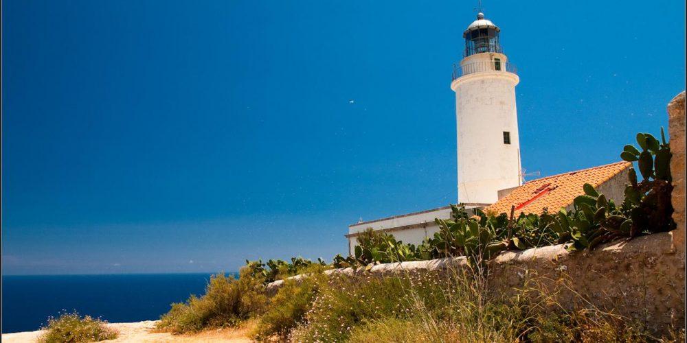 Una ruta de faros de Ibiza y Formentera que te sorprenderá
