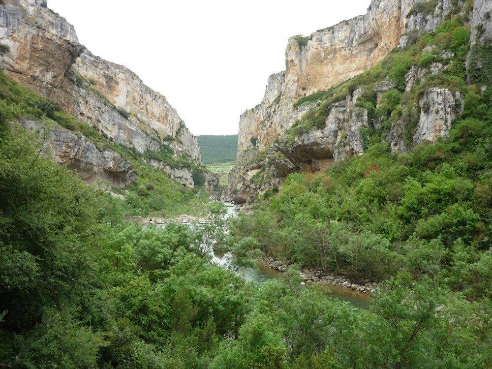 Ruta por Foz Lumbier en Navarra