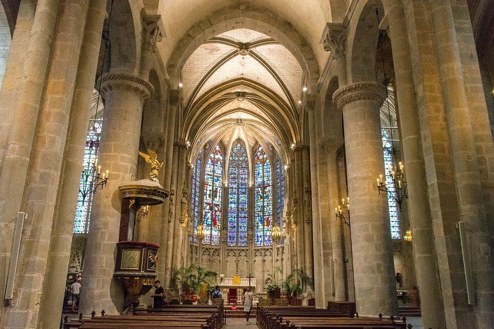La Basílica Saint Nazare es la más importante de Carcasona