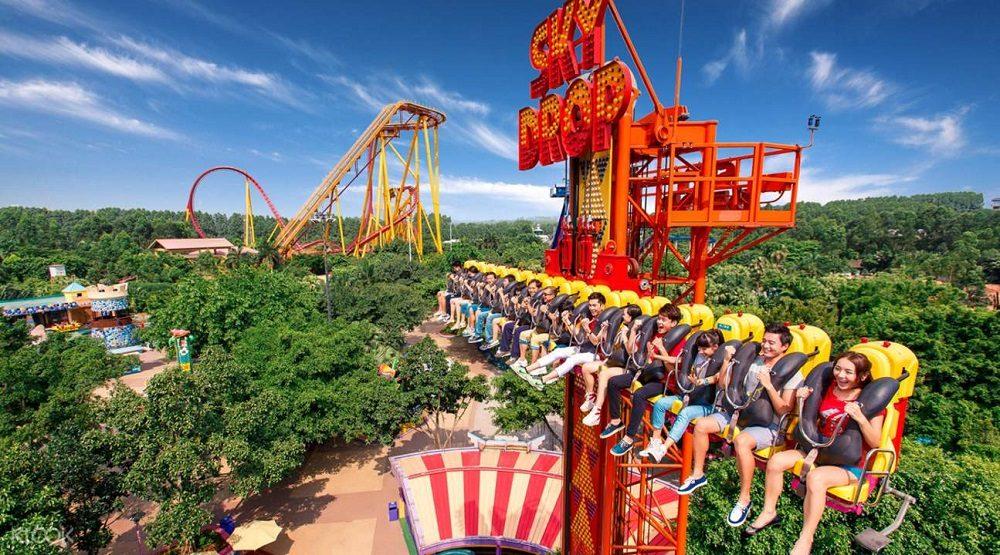 Parque de atracciones Chimelong Paradise