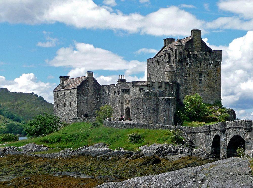 Castillo de Los inmortales y Braveheart