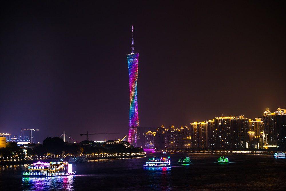 La Torre de Cantón, la más alta de China