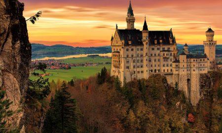 Castillos de películas en el mundo real