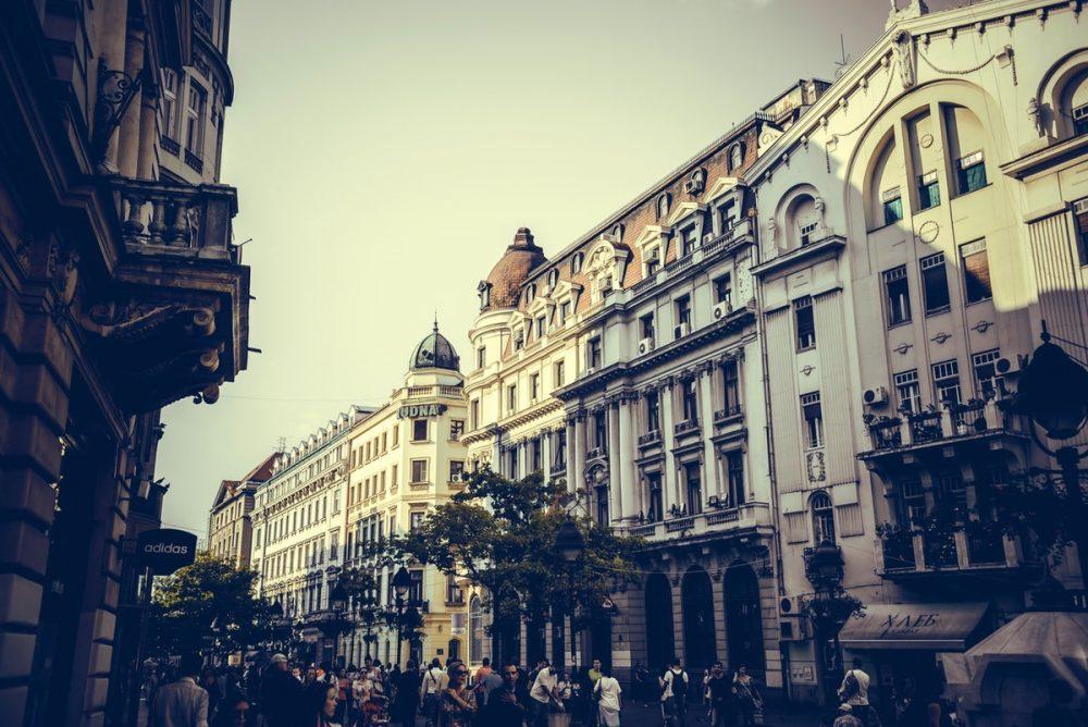 Calle Knez Mihailova Belgrado