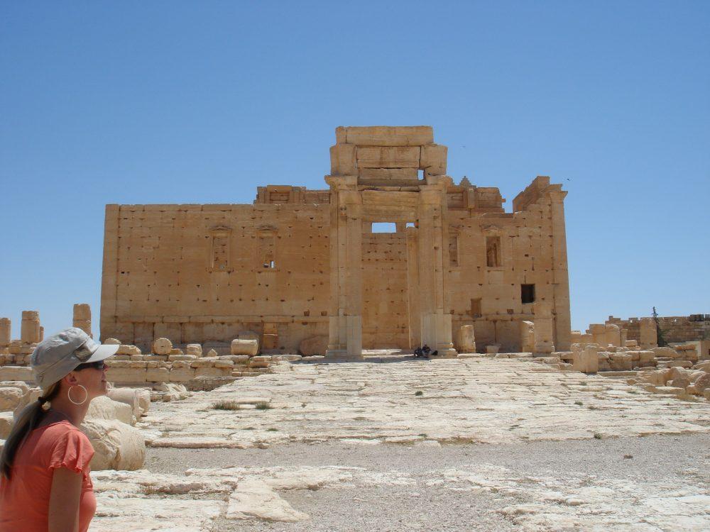Palmira antes de la destrucción