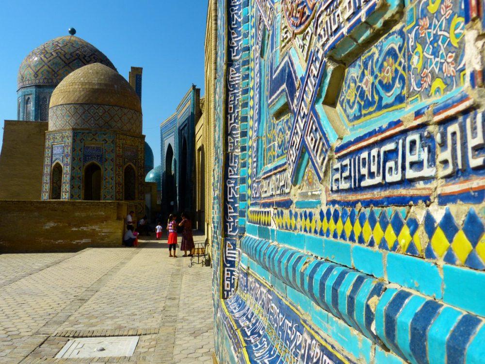La necrópolis de los mausoleos de Samarkanda