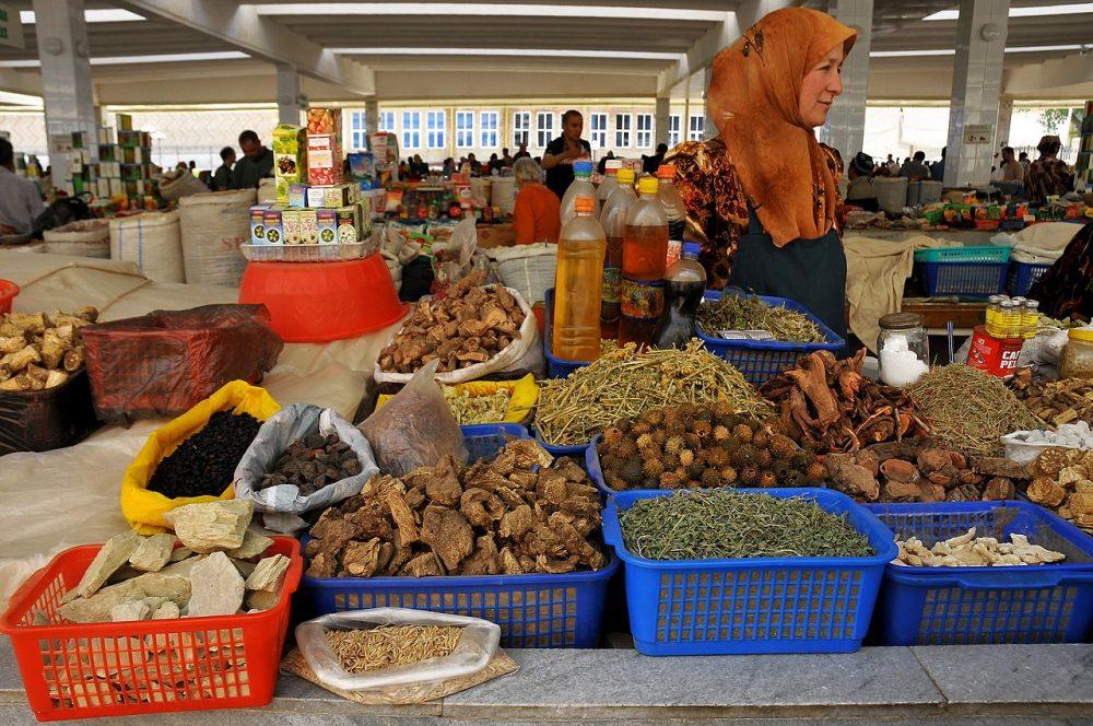 Bazar de Siyab en Samarkanda