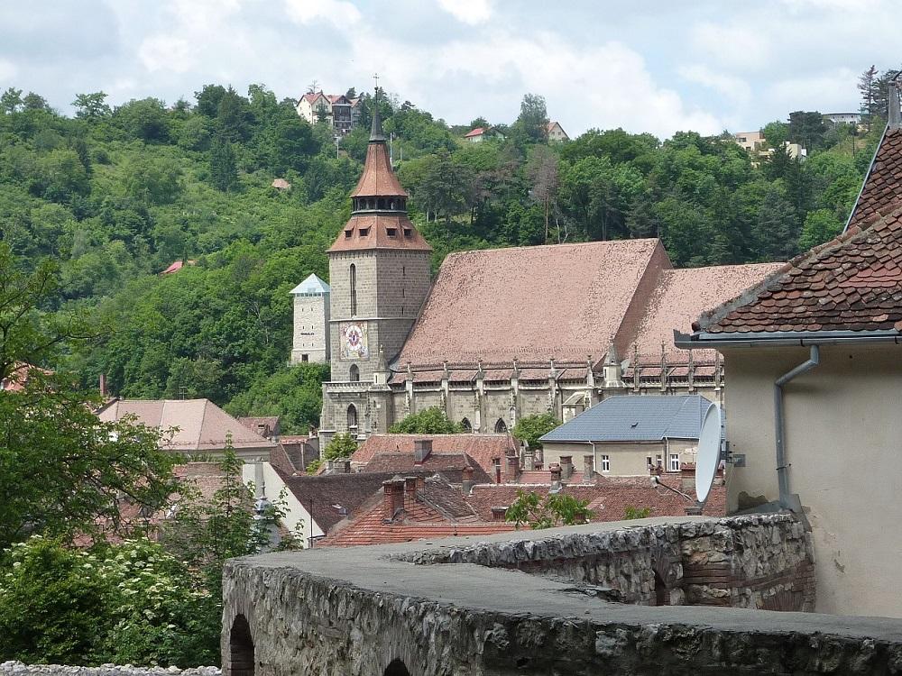 Brasov, ciudad de la región de Transilvania
