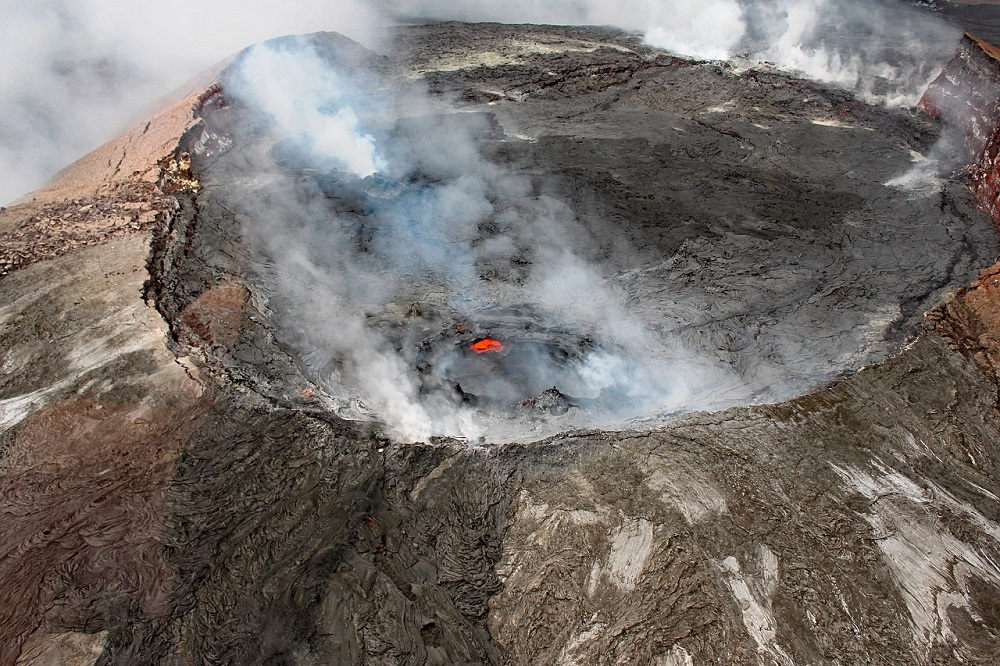 Volcán Kilauea, en la isla de Hawái