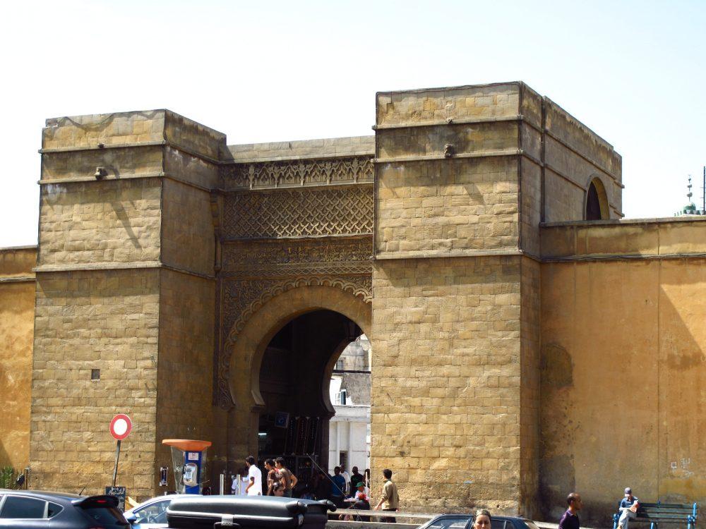 Entrada a la Medina y ciudad antigua de Casablanca