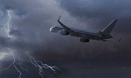 Turbulencia vuelo avión
