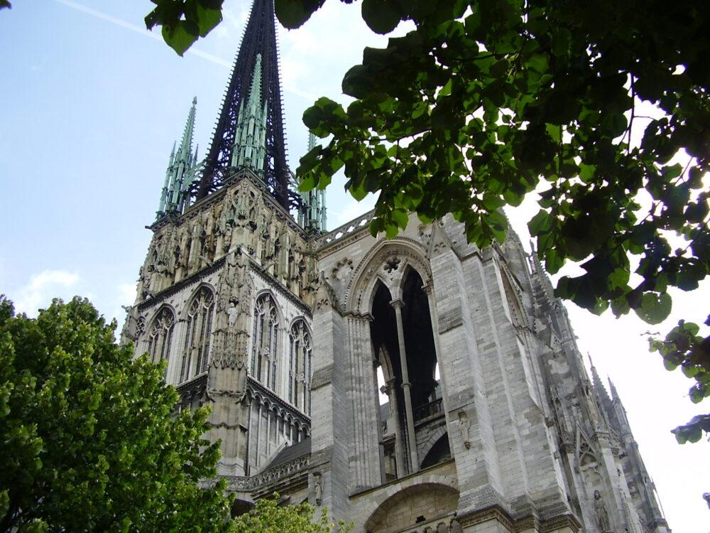 Rouen, una de los puntos de origen del Gótico - qué ver en Normandía