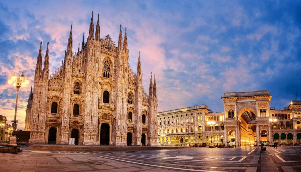 Plaza Duomo de Milán