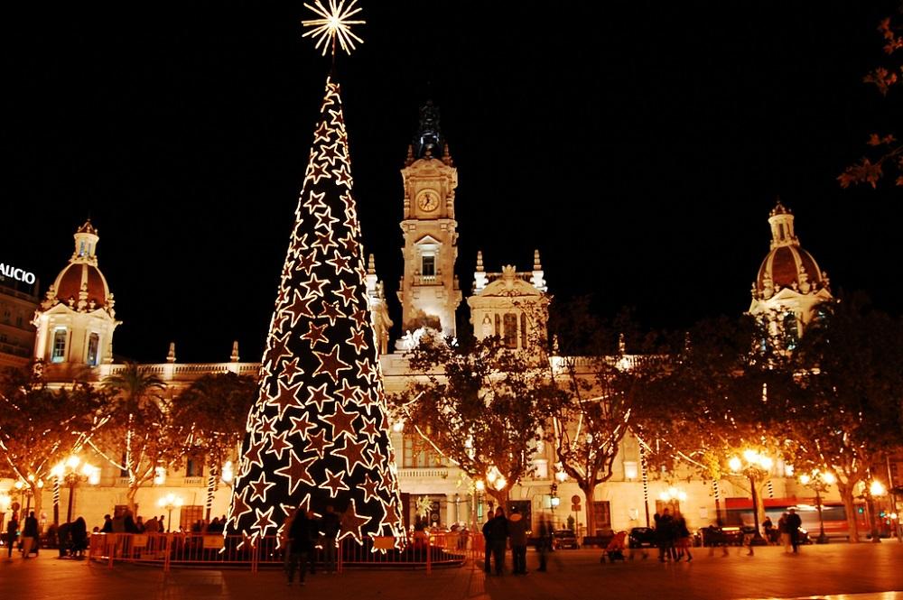 Disfrutar las navidades en Valencia